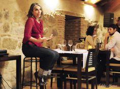 Sesiones golfas en el Restaurante La Bruja con Cristina Verbena y Magda Labarga - 4 Abril - Fotografía de Eulalia Martínez