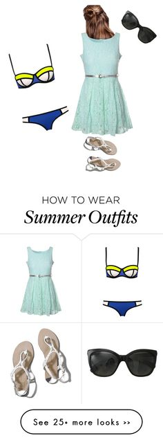 """""""Summer outfit"""" by katenoden on Polyvore featuring Chanel, Abercrombie & Fitch and Glamorous"""