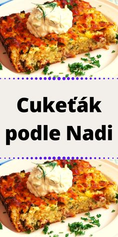 Cukeťák podle Nadi Salmon Burgers, Lasagna, Baking Recipes, Food And Drink, Low Carb, Meat, Chicken, Cooking, Ethnic Recipes
