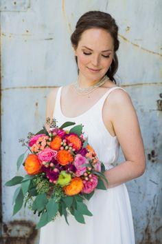 Intimate Vintage Wedding Bride