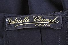an original chanel label