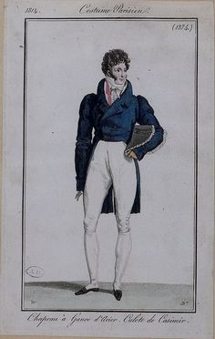A handsome outfit. Costume parisien, 1814
