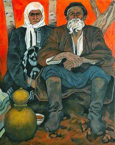 """Hebst"" Öl auf Leinwand, 100 x 80, 1998 Germany."