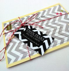 #TwinPeaks recipe cards  Set of 15 by CastleOnTheHill on Etsy, $12.50 #recipe #food #davidlynch