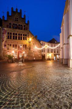 Gotisches Haus in Xanten, Nordrhein-Westfalen, Northwestern Germany