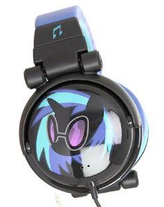 Amazon.com: My Little Pony DJ Pon-3 Over Ear Headphones: Electronics