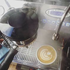 Flat whites in the mist