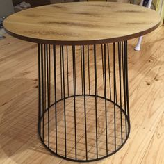 Soft Industrial Wire Side Table Or Coffee Table