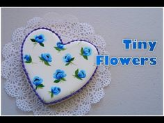 My piping bags...My little bakery, cookies, lace cookies, cross stitch cookies.. - YouTube