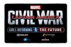 Earn a Marvel Internship With the Captain America: Civil War – Girl's Reforming the Future Challenge