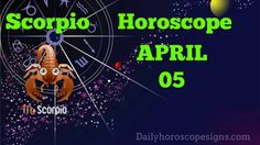 Scorpio Daily Horoscope:(Love,Career,Wellness) April 05, 2015 Sagittarius Horoscope Today, Aquarius Daily, Aries Horoscope Today, Cancer Horoscope, Horoscopes, Career, Wellness, Zodiac, Carrera