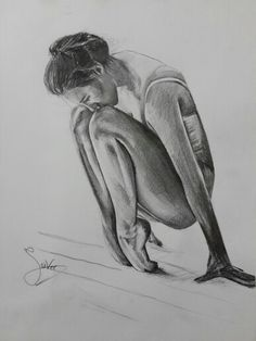 ballet ,drawing by siver serwer