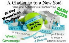 Did you know that of the 45% of Americans that set New Year's resolution goals, 66% of them are fitness related goals? What's even more interesting is that 73% of that 66% give up before ever reaching those goals. If you've fallen into that 73% in the past, I'd love to help you change that in 2016. There is a 60 day weight loss challenge starting January 15th. We will discuss and offer exercises, nutrition, accountability, advice, prizes, leveraging MyFitnessPal, supplement education…