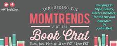 Momtrends Virtual Book Chat with Jordan Reid - MomTrendsMomTrends