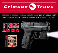 Heads up - free ammo with purchase of @CrimsonTrace laser --> #2a #CrimsonTrace #ammo #guns #shooting