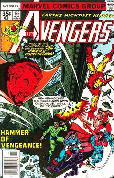 Avengers - Comics by comiXology Avengers Art, Young Avengers, Avengers Comics, Avengers Universe, Comic Book Covers, Comic Books Art, Comic Art, Book Art, Iron Man Noir