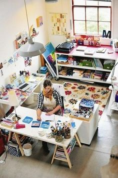 Я сейчас просто умру от зависти )) Про рабочее место - Ярмарка Мастеров - ручная работа, handmade