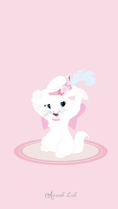 Smartphone wallpaper Disney #illustration #fanartdisney aristochat