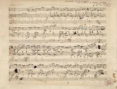 ビブリオポリ-音楽アート-ショパン自筆譜(変ト長調 作品51)
