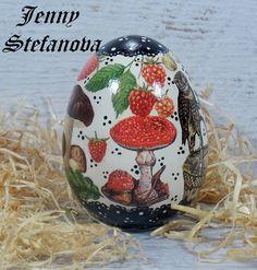 Decoupage by Jenny Stefanova Decoupage, Eggs, Egg, Egg As Food