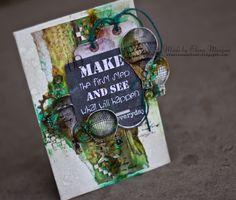 Творческий блог Елены Моргун. Скрапбукинг | Мастер-классы по открыткам, альбомам и страничкам | Вдохновение