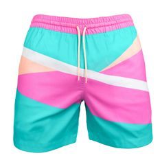 Chubbies Size L Swim Shorts Trunks Mens Mesh Lined En Fuego Bermudas Shorts, Swim Shorts, Billabong, Men's Swimsuits, Men's Swimwear, Pink Swimsuit, Matches Fashion, Vintage Adidas, Man Swimming