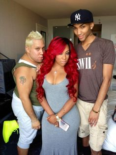 K Michelle Red Hair Bob ... about K Michelle Hair on Pinterest | Red Curls, Hair and Red Hair