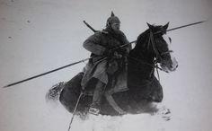 エロ、軍事、武術等 — jasta11:   German cavalry lancer on the Eastern...