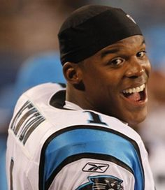 So proud of Cam Newton today! Go Panthers! twittle__dee