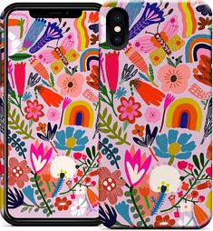 Flower Power iPhone Case Beautiful I-phone cases designed by Carolyn Gavin for ecojot. Iphone Cases Cute, Iphone Wallet Case, Iphone Case Covers, Otterbox Ipad, Retro Illustration, Cute Diys, Stationery Design, Ipod Touch