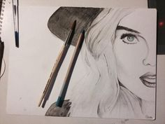 Amazing drawing of Perrie