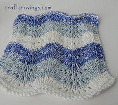 Whimsical Waves Dishcloth