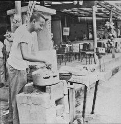 Bares e vendedor de milho, São Conrado, início dos anos 60