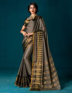 Soft Silk Cotton Saree-SSSRE015