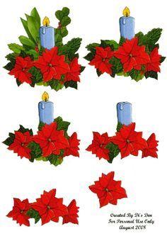 Freebie Christmas Decoupage