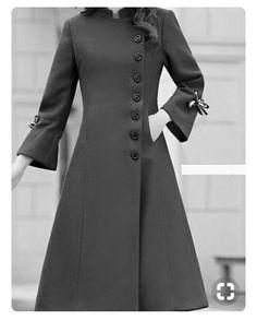 مدل پالتو زنانه ۲۰۱۹ ساده اروپایی با استایل های زیبا - پالتو بلند - Tesettür Hırka Modelleri 2020 - Tesettür Modelleri ve Modası 2019 ve 2020 Abaya Fashion, Muslim Fashion, Fashion Dresses, Fashion Clothes, Fashion Fashion, Blazers For Women, Coats For Women, Clothes For Women, Mode Outfits