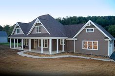 Architectural Designs House Plan 41053DB gives you a 3-car side-load garage and over 2,500 square feet of living plus a bonus option to build over the 2-story family room giving you more space. Ready when you are. Where do YOU want to build?