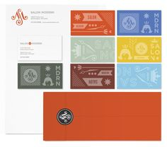 love the bold color palette! By Studio MPLS