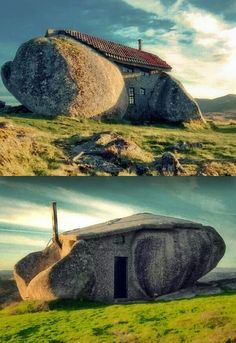 Great house made out of larger stones