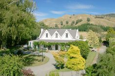 'Woodside' listed heritage homestead. Tuamarina, Blenheim, Marlborough NZ
