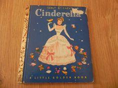 Walt Disney's Cinderella - A Little Golden Book - 1950.  by cjsj