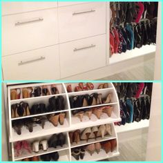 Limited space but just love shoes!