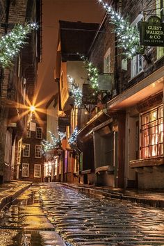 The Shambles, York. Only one of the many many fav places I love in the UK