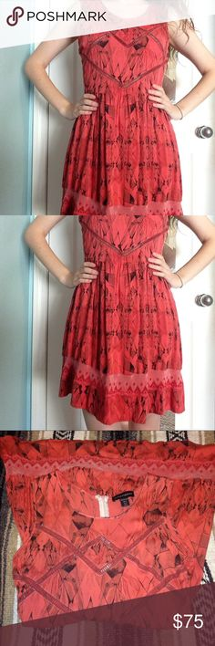 Stylestalker summer dress size 6! only worn once! has a zipper and latch closure on the back. size 6 (will fit a small or medium). super soft and completely adorable. originally purchased for $170. Stylestalker Dresses Mini