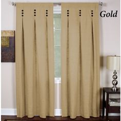 Pinch Pleated Drapes Curtains