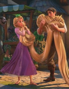 Eugene is too responsible. I love the way he takes care of Rapunzel. Walt Disney, Princesa Rapunzel Disney, Disney Couples, Disney Films, Disney And Dreamworks, Disney Cartoons, Disney Pixar, Disney Icons, Punk Disney