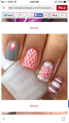 Cute nails for Tiffany to do