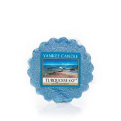 Turquoise Sky™ Yankee Candle Company Tarts® Wax Melts - Calm, salty air with hints of sea grass and musk, float gently on ocean waves . . . off on an adventure beneath a bright blue sky.