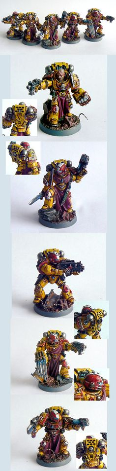Imperial Fists Veteran squad