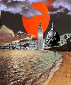 Tsunami created with Bazaart by Akira Hashiguchi
